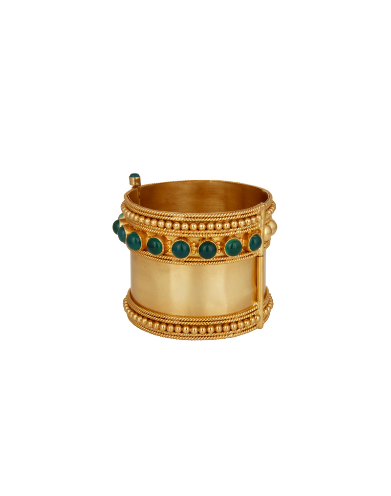 Kajal Gold Cuff - buy clothes online of emerging designers