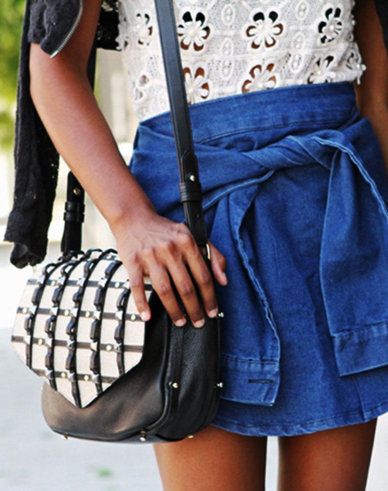 Jayel Bond Crossbody - buy clothes online of emerging designers