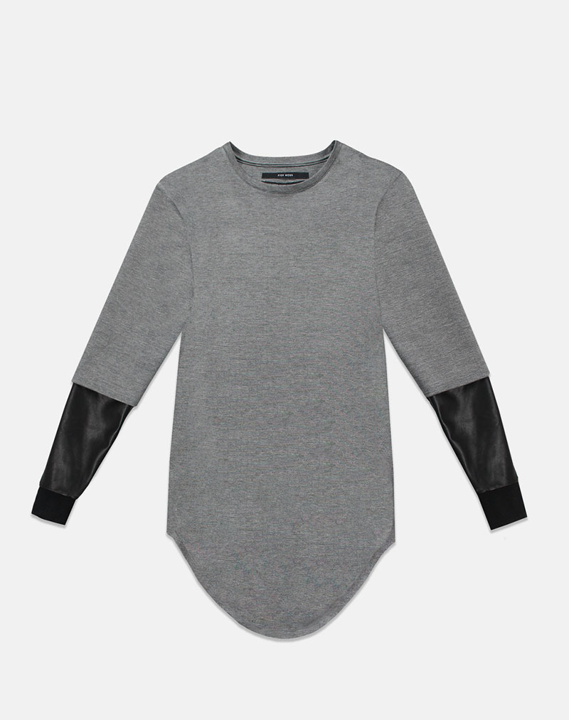 Deans Crewneck - Grey - buy clothes online of emerging designers
