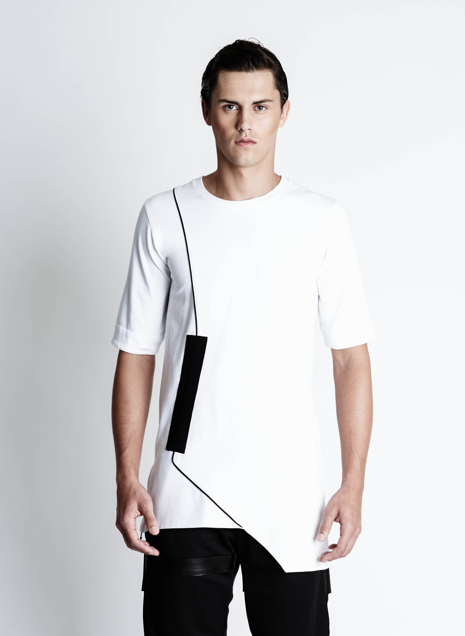 Fixed Damage T-shirt - White - buy clothes online of emerging designers