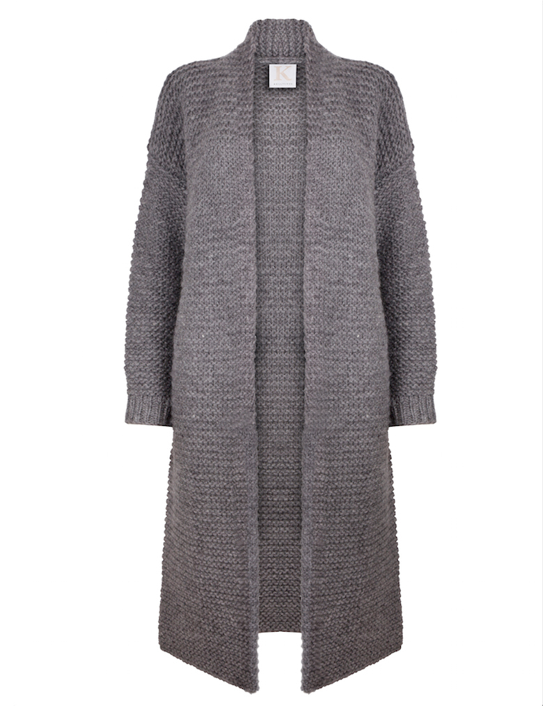 Smokey Grey Knit - buy clothes online of emerging designers