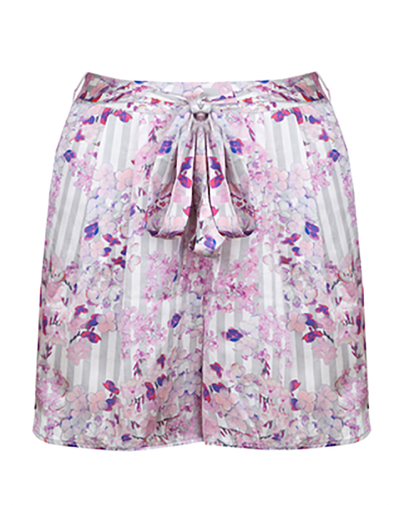 Frangrant Hydrangeas Shorts - buy clothes online of emerging designers