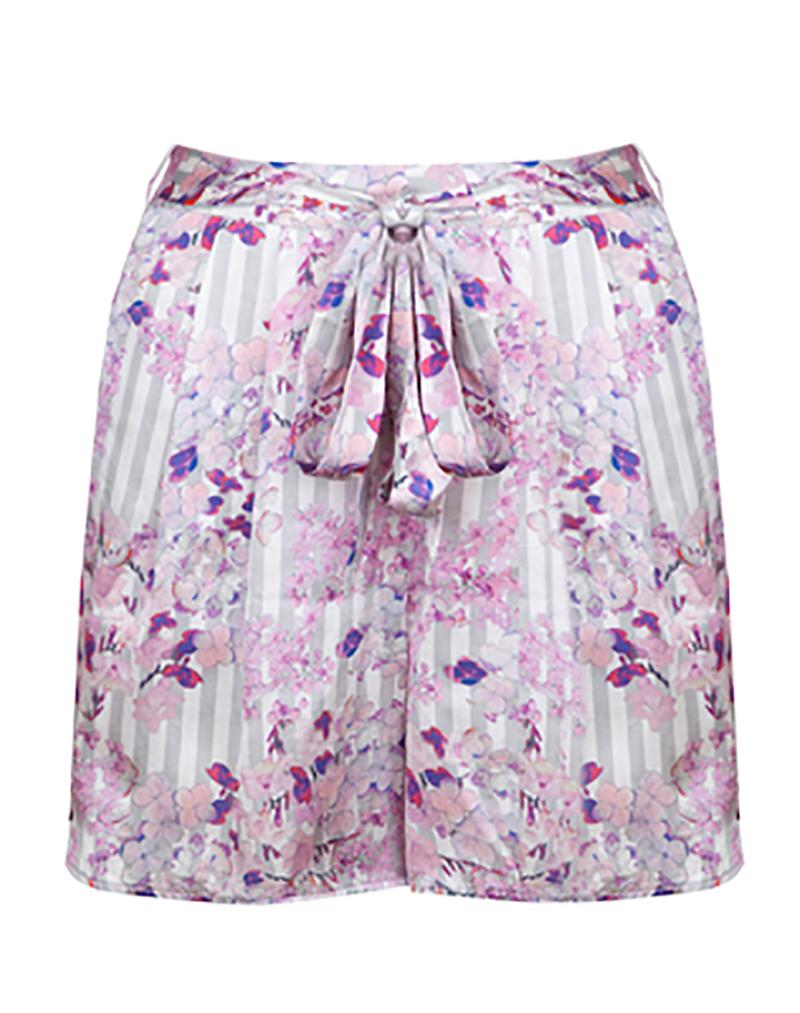 Frangrant Hydrangeas Shorts - buy clothes online of emerging designers