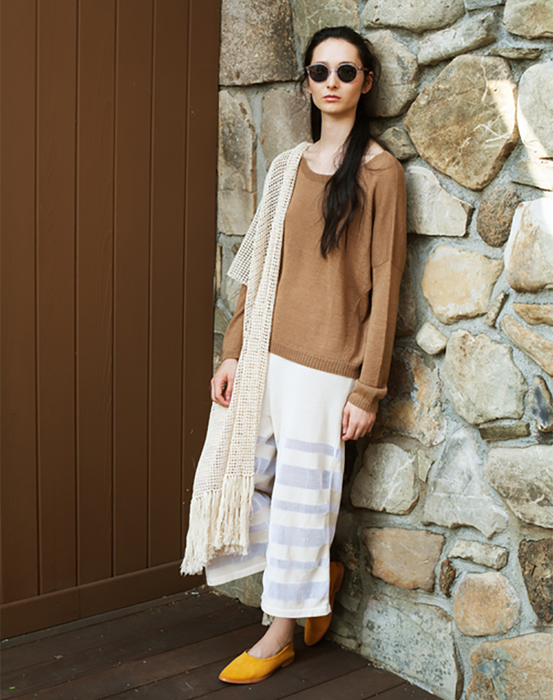Anna Sweater Camel - buy clothes online of emerging designers