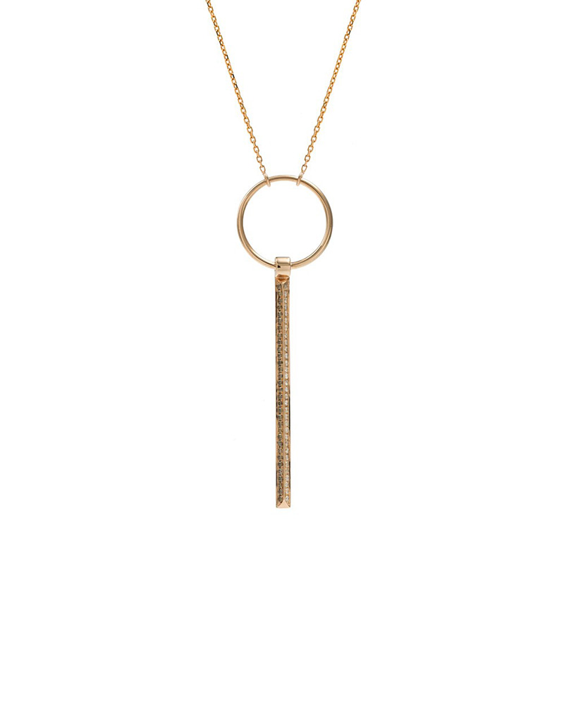 The Icon Fine Pendant - buy clothes online of emerging designers